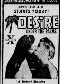 Desire Under the Palms 1968 reklamsız izle